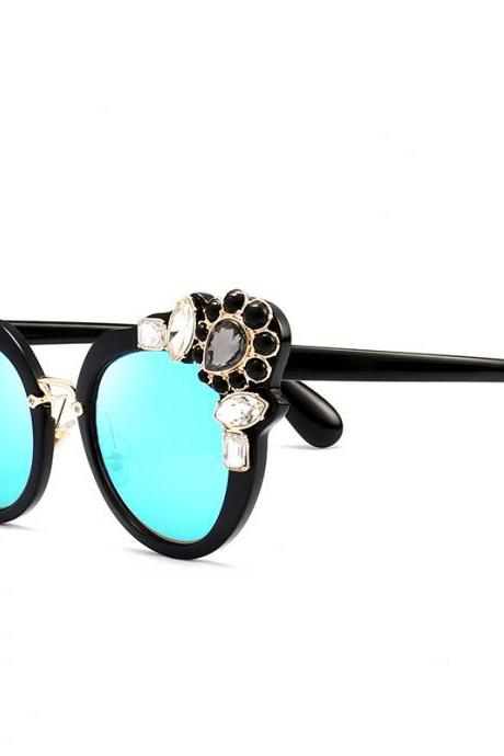 High Quality Cute Designer Sunglasses For Women - Blue